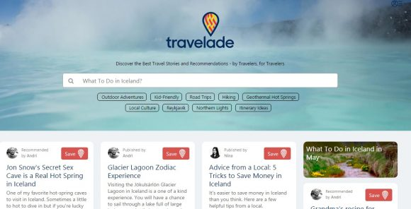 Travelade – Gateway to Unique Experiences in Iceland
