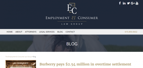 Employment & Consumer Law Group