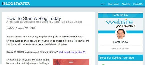 Blog Starter