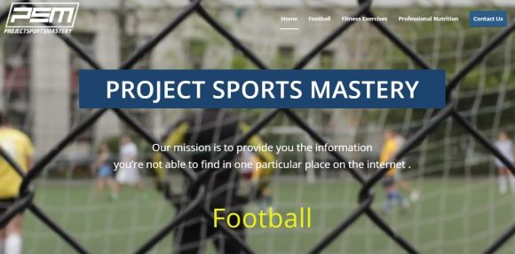 Project Sports Mastery